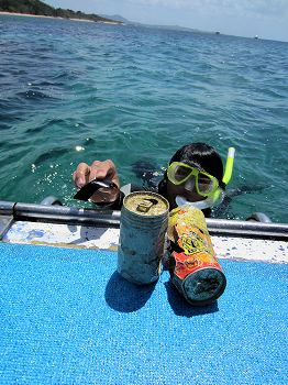 海中ゴミ清掃