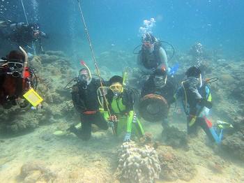 海中ゴミ清掃4