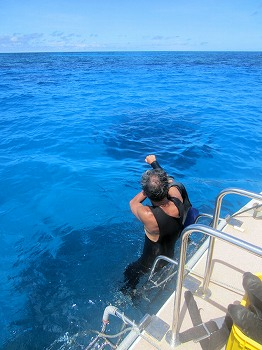 波照間島遠征ダイブ1