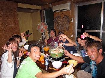 カニ鍋パーティー1