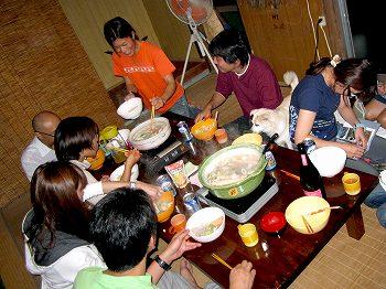 カニ鍋パーティー2