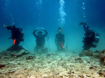 水中人文字ダイブ2012