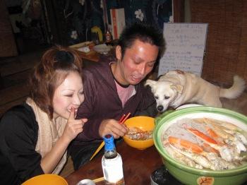 カニ鍋パーティー4