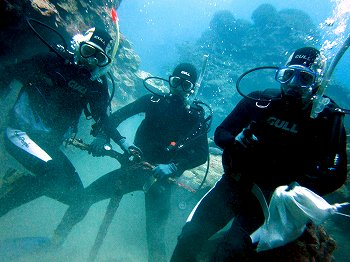 海中ゴミ清掃5