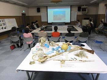 海中ゴミ清掃発表会2