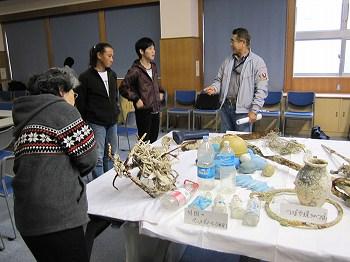 海中ゴミ清掃発表会3