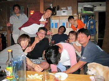 カニ鍋パーティー3