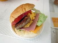 手作りハンバーガー