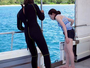 体験ダイビング講習2