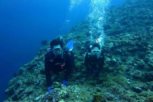 体験ダイビング2