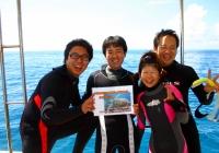記念ダイビング1
