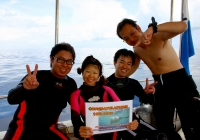 記念ダイビング2