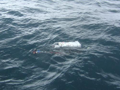 海底探査ロボット