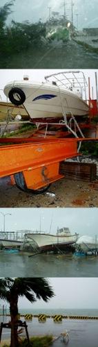 台風被害写真