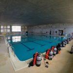 八重山商業工業高校のダイビングの授業